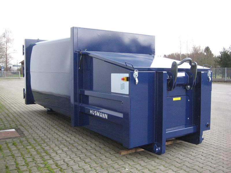 Husmann Portable Waste Compactors - SPB SEN-E