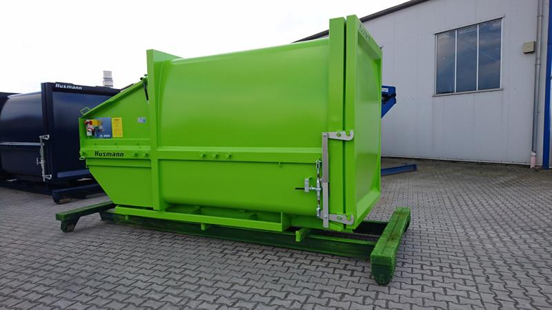 Husmann Portable Waste Compactors - SPB SW –AW-E