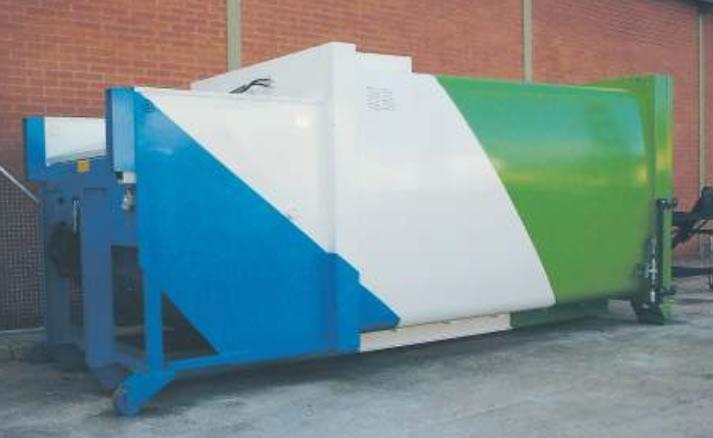 Husmann Portable Waste Compactors - SPB SW-E - For Wet Waste