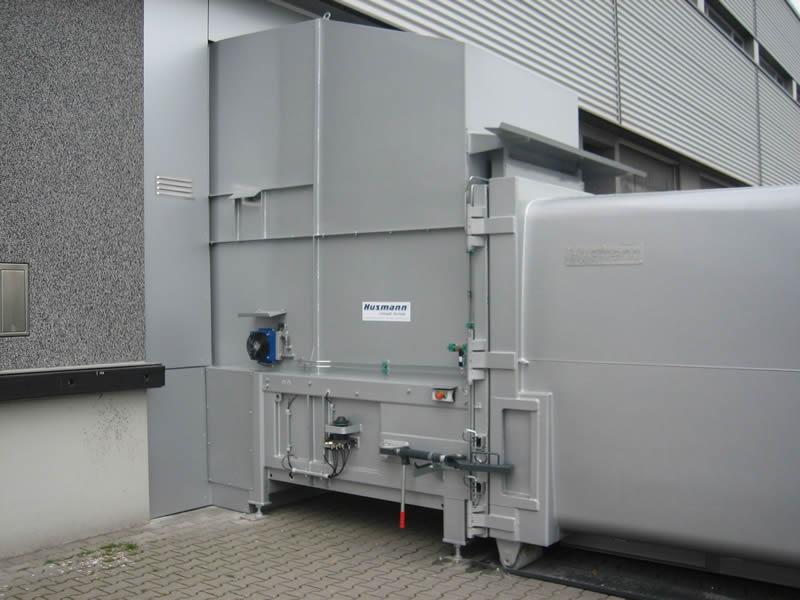 Husmann Static Waste compactors - Short Static Waste Compactors