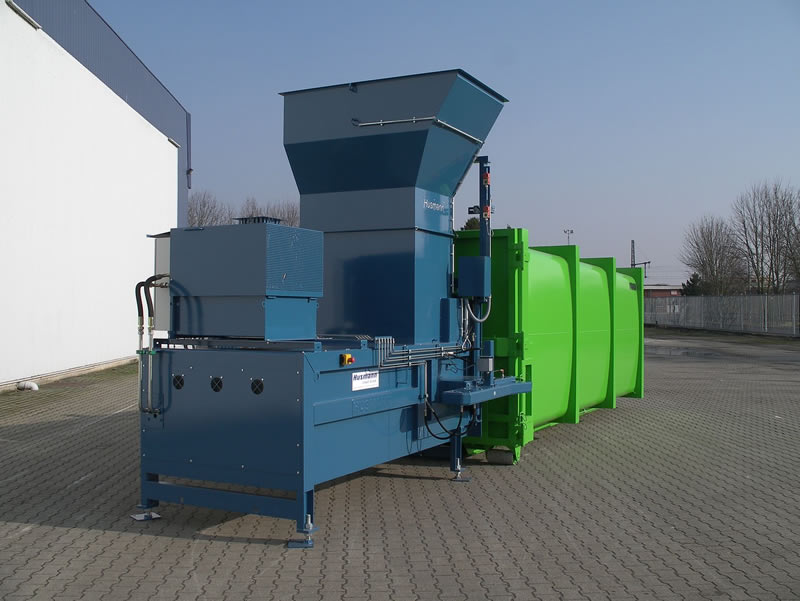 Husmann Static Waste compactors - MP Standard Model
